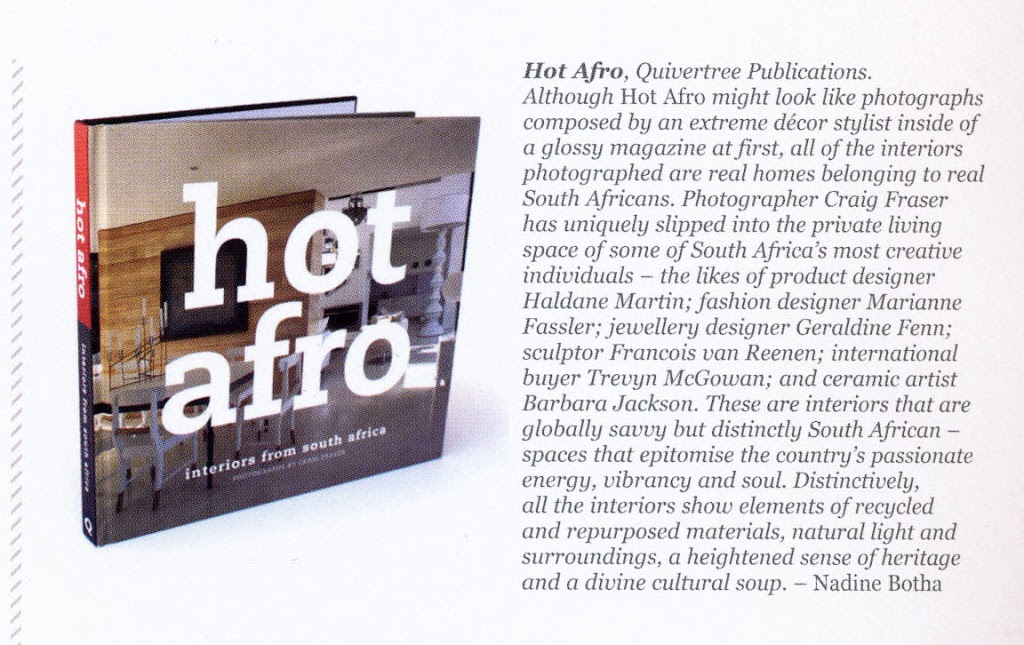 Hot Afro featured in the Design Indaba magazine