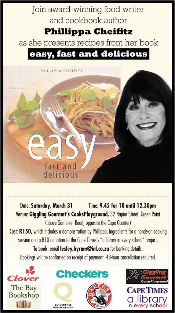 easy, fast and delicious Cooking Demonstration