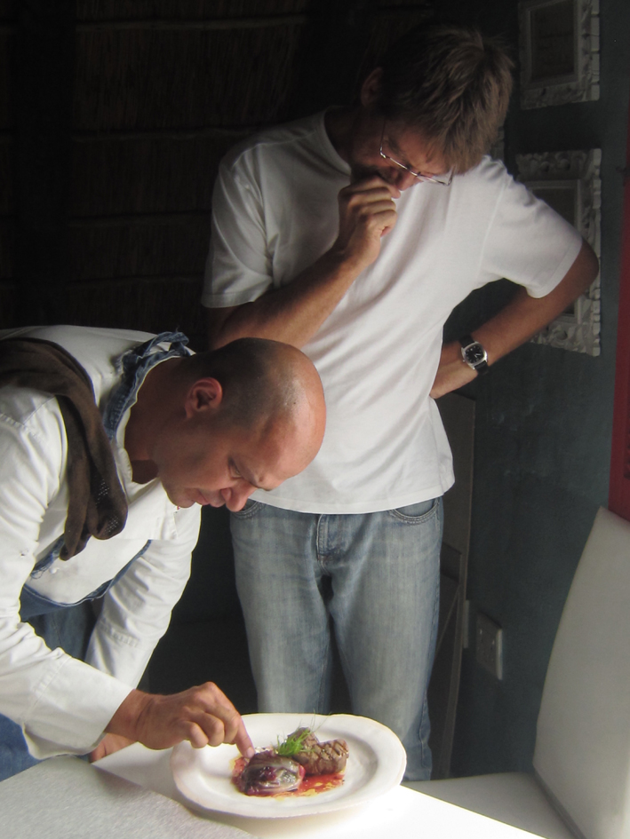 Franck Dangereux and Craig Fraser…a new book in the making……watch this space…..