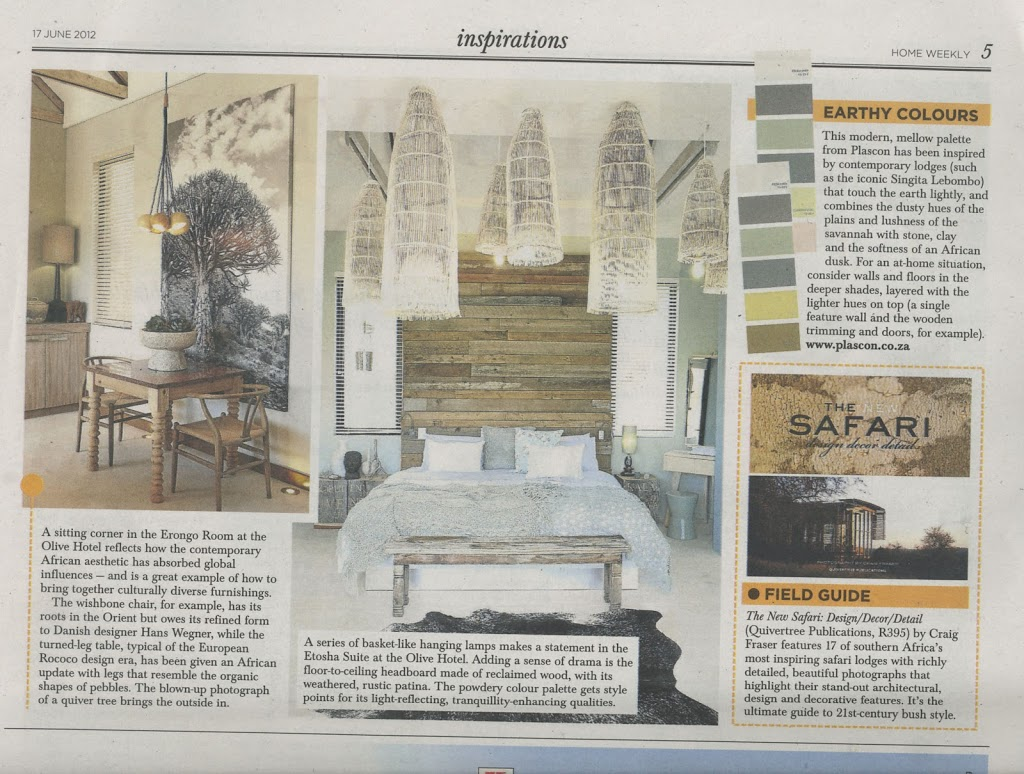 Sunday Times article on The New Safari