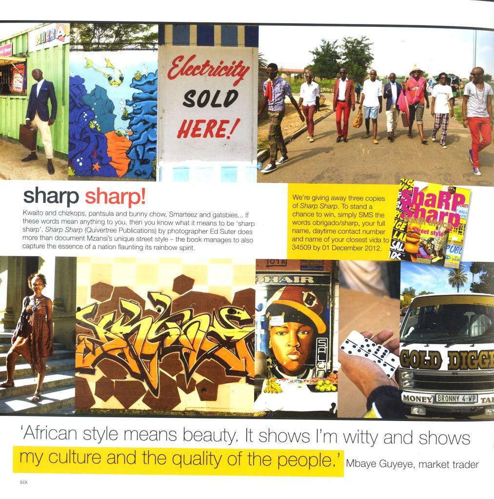 Sharp Sharp in Obrigado Magazine