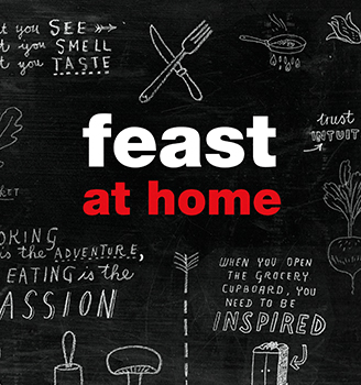 Franck receives fan mail about Feast at Home from an avid young foodie…