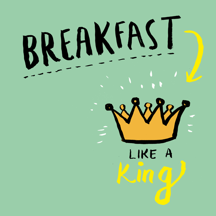 2016 goal #1: Eat Breakfast Like a King!