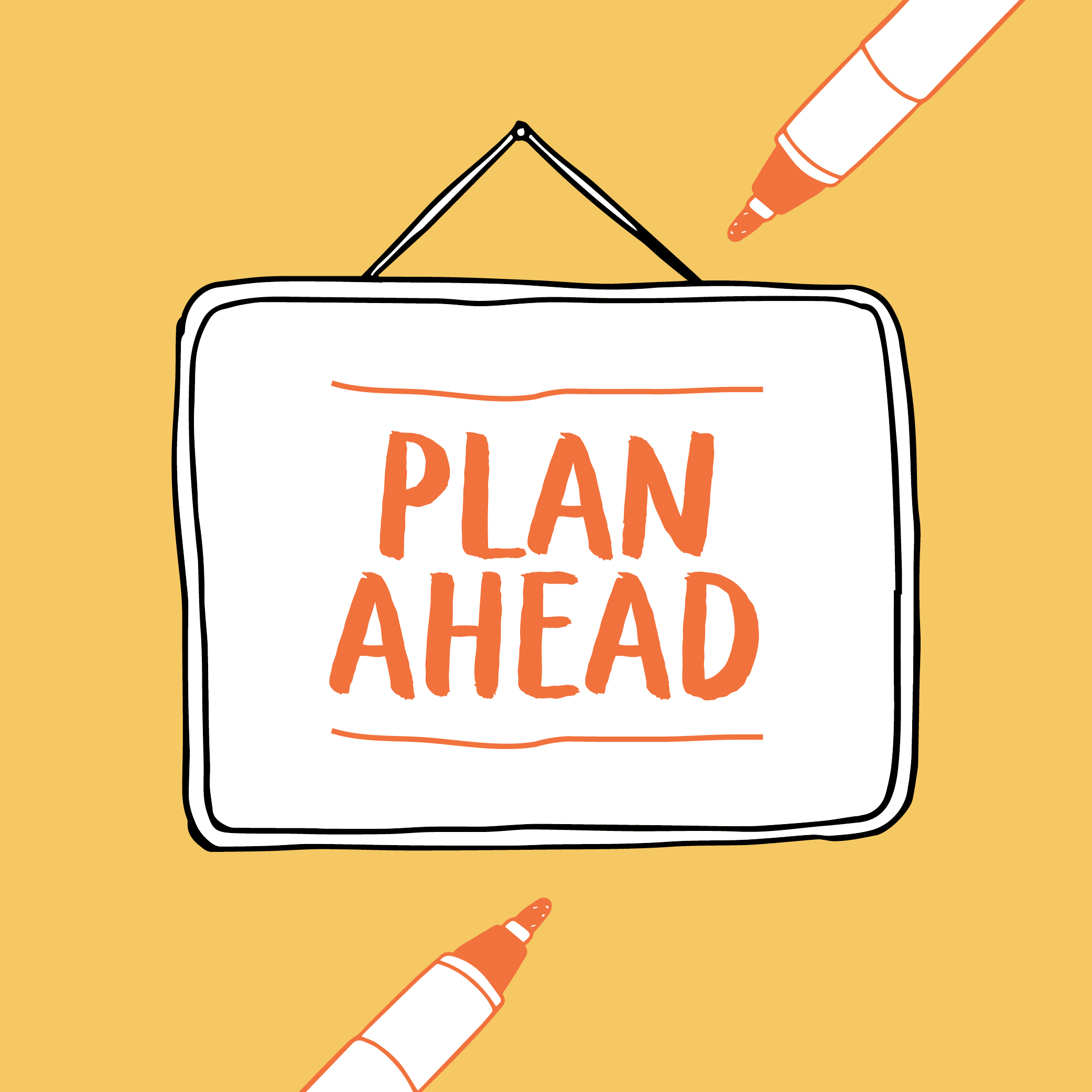 2016 goal #3: Plan ahead