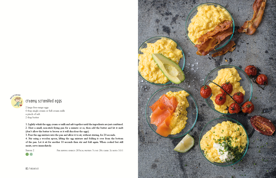 p82-83_creamy_scrambled eggs_real_food