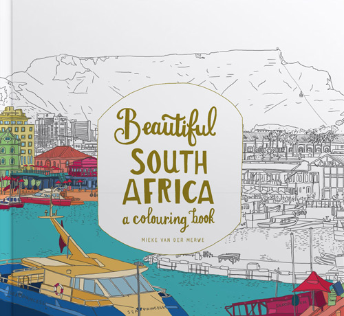 Beautiful South Africa – a colouring book