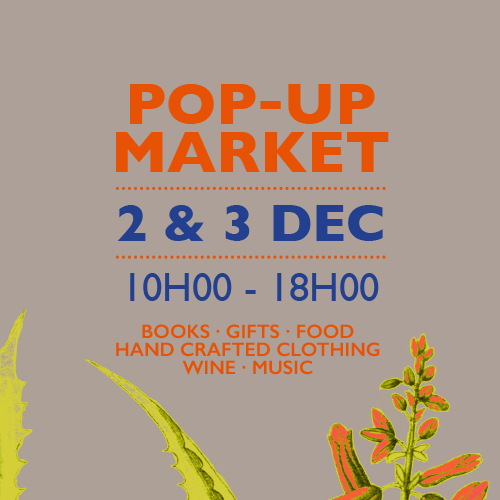 Join us at our pop-up market in Cape Town