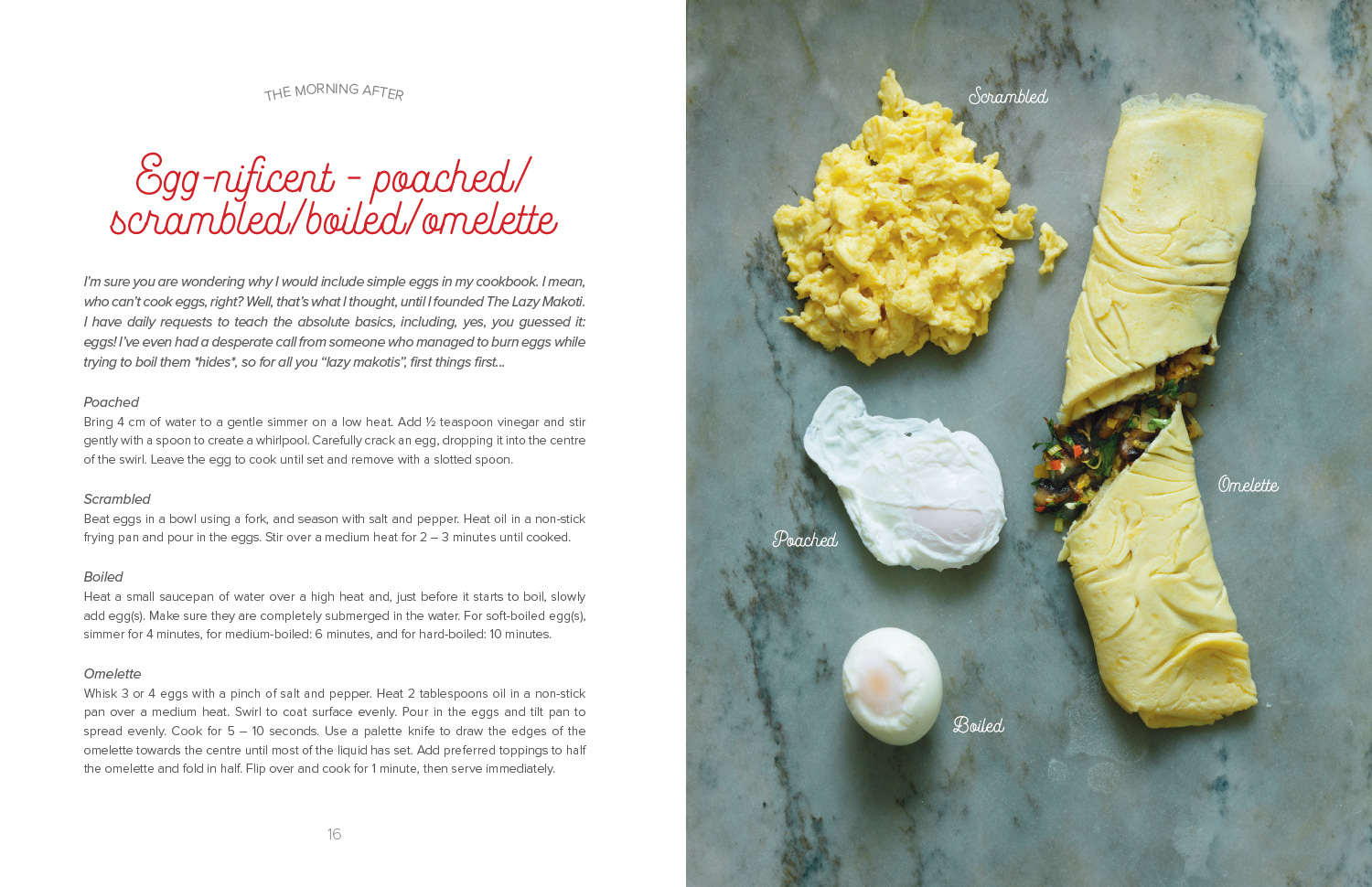 Egg-nificent spread from The Lazy Makoti's Guide to the Kitchen