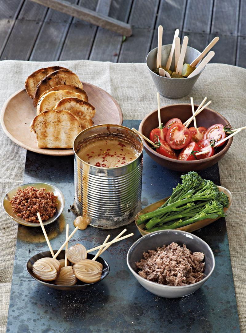 Canned fondue