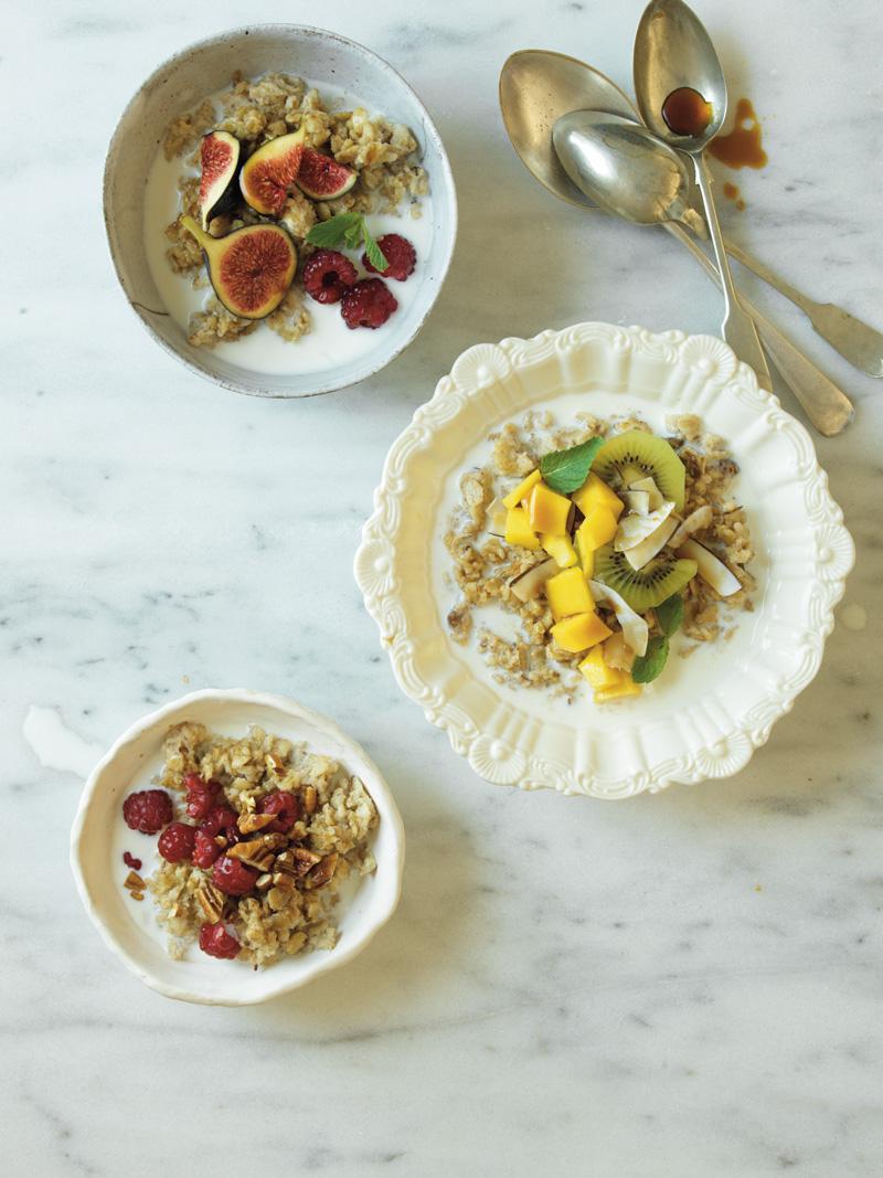 Coconut oats muesli