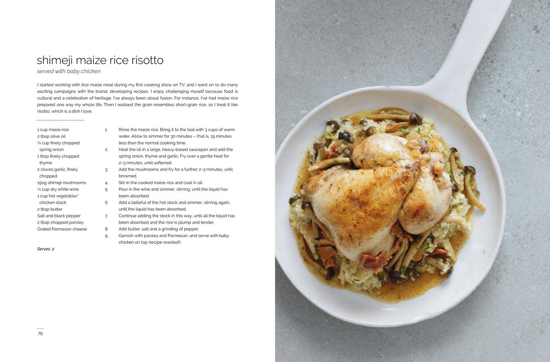 Chef Nti book spread